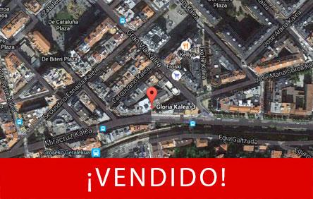 Imagen de ubicación de promoción inmobiliaria en Gloria 3 y 5 en Gros Donostia San Sebastián