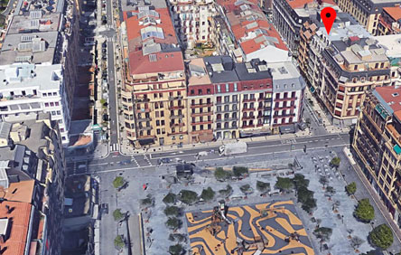 Imagen de ubicación de promoción inmobiliaria en San Francisco Gros